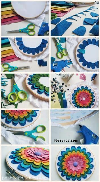 DIY-Easy-Flower-Hoop-Art