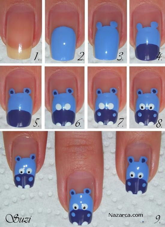 DIY-Hippo-Nail-Art