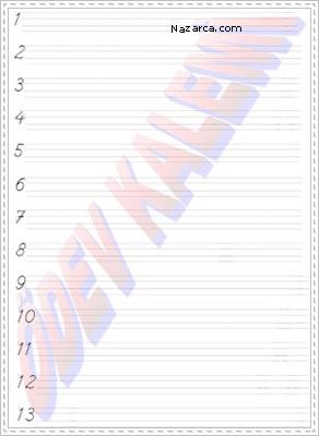 Rakamlarin Yazilisi 1- 13 Sayilari Yazma 1. Sinif Matematik Dersi