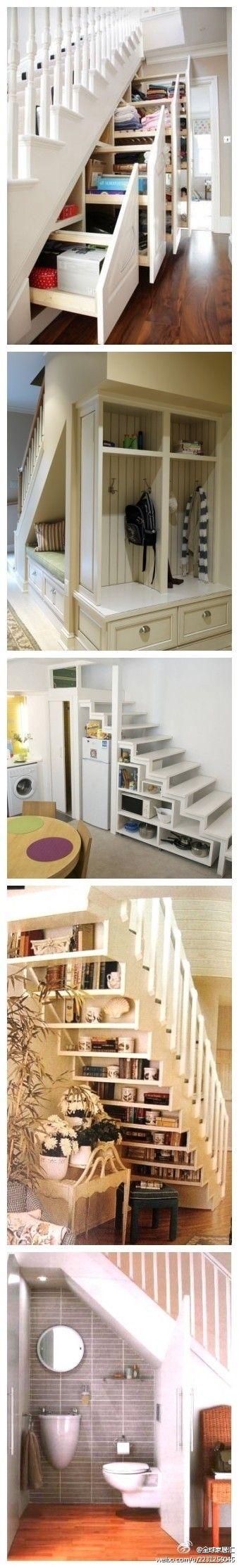 Merdiven altı değerlendirme dekore fikirleri