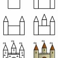 Kale Resmi Nasıl Çizilir