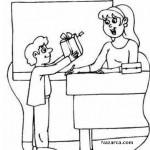 Öğretmenler Günü Boyama Etkinliği sayfalari