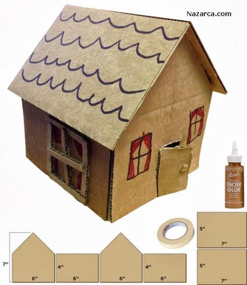 Cardboard-House