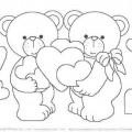 desenhos-colorir-ursinhos-apaixonados