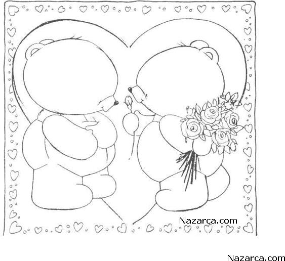 desenhos-colorir-ursinhos-apaixonados-4