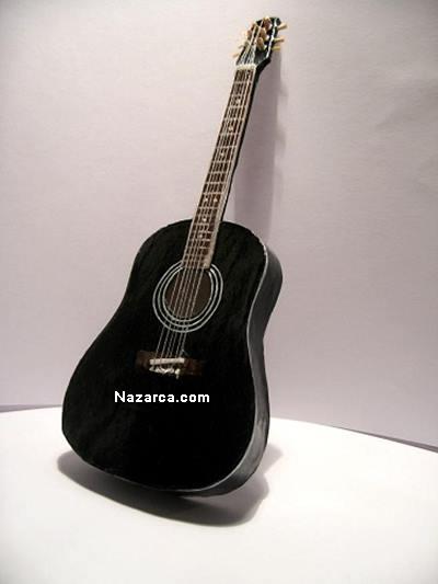 karton-kolay-guzel-gitar-yapma