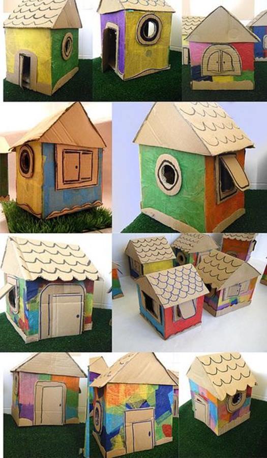 kartondan-basit-ev-maketleri