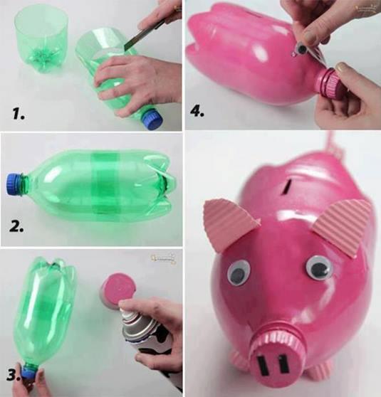 plastik-siseden-domuz-kumbara-nasil-yapilir