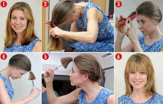Kendi saçımı nasıl katlı kesebilirim