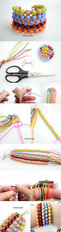 plastik-boncuklardan-yapilan-taki-bileklik-orme
