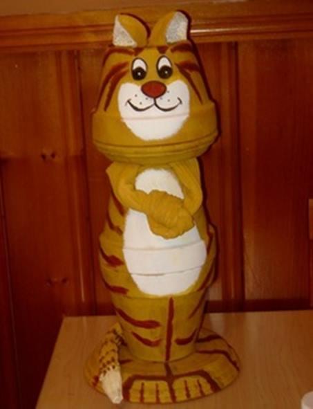 saksidan-kedi-heykeli