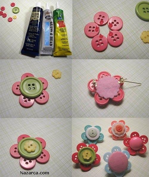 DIY-Button-Flowers-proje