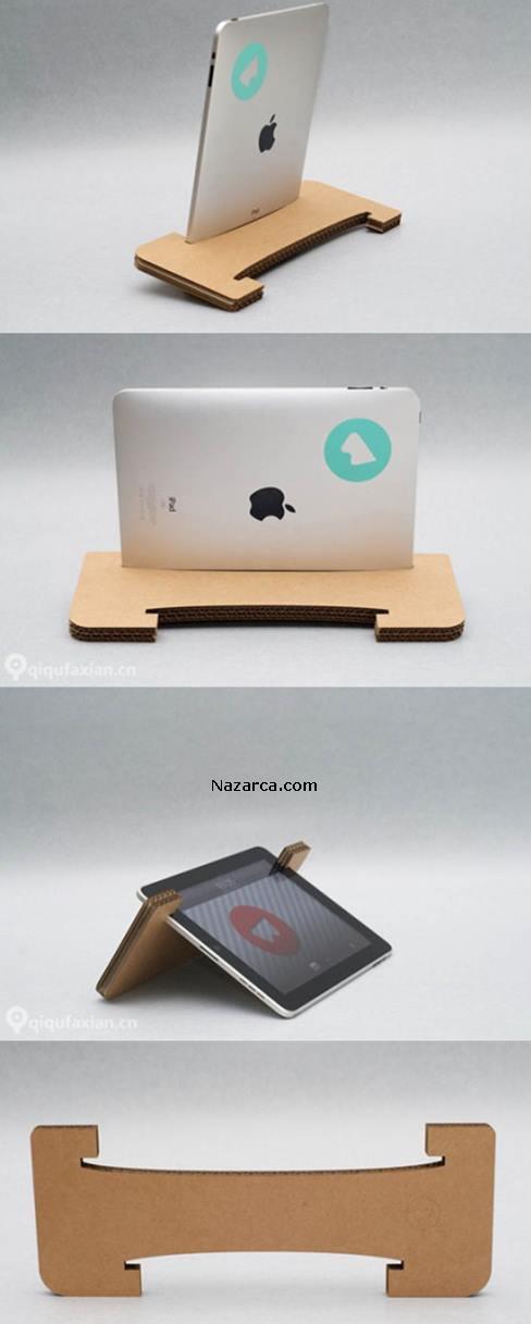 DIY-Cardboard-iPad-Tablet-Stand