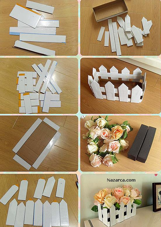 DIY-Fence-Flower-Ornament-DEKORATİF