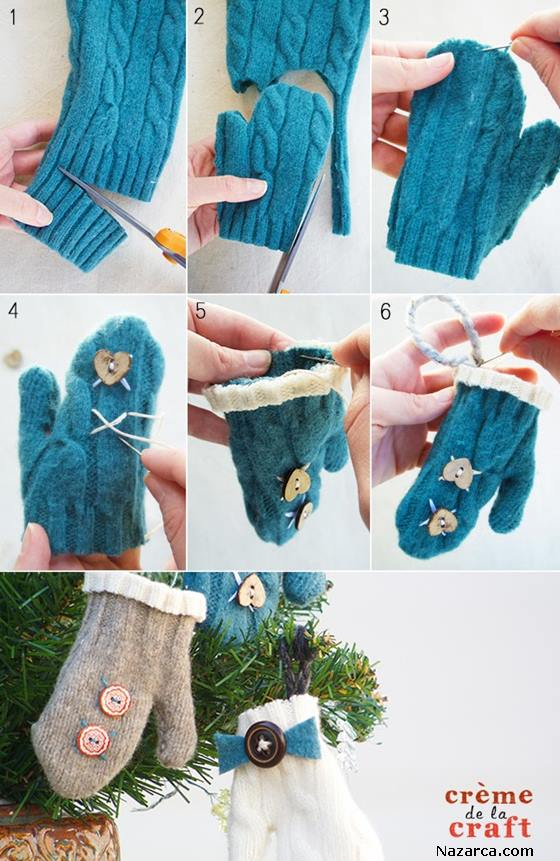 Easy-Gifts-Handmade-kazaktan-eldiven-diy