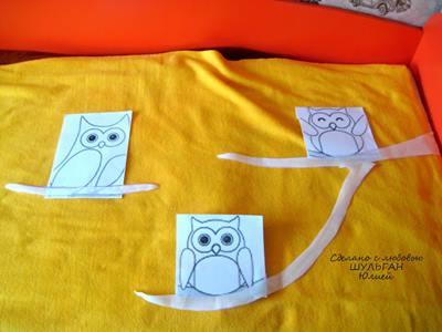 Polar-kumastan-sevimli-baykuslu-bebek-battaniyesi-yapilisi-9