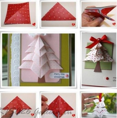 ORİGAMİ 3D GİF CARD