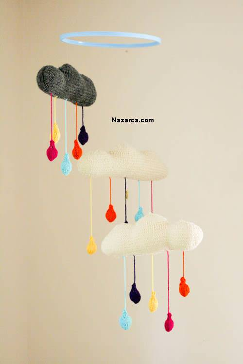 DIY-Rainy-Cloud-Mobile-orgu