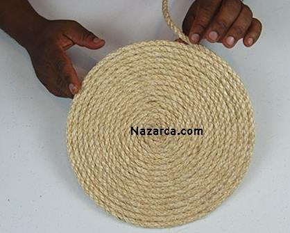 How-flower-basket-of-rope is made-3