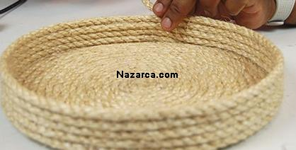 How-flower-basket-of-rope is made-5