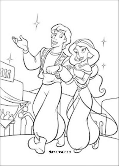 Ilkokul Aladdin Resimleri Boyama Sayfalari Nazarca Com