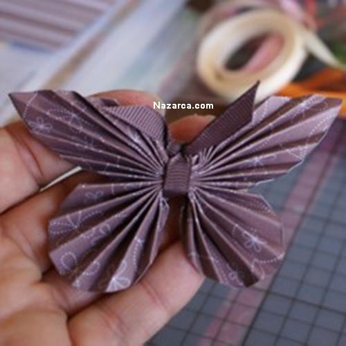 Сделать бабочку из бумаги своими руками фото поэтапно 2