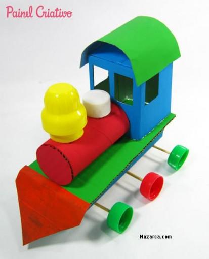 como-fazer-trenzinho-reciclado-criancas-nazarca