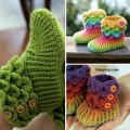 crocodile-little-girl-crochet-booties-