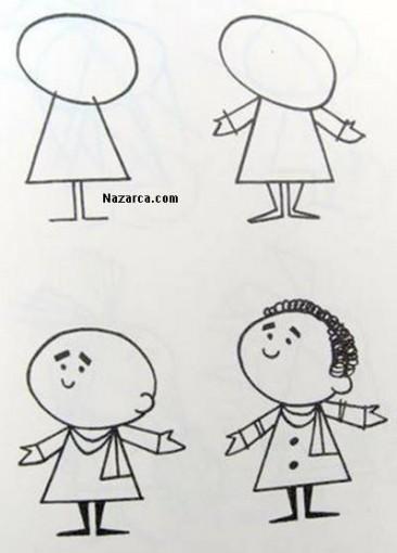 karikatur-erkek-cocuk-cizmek