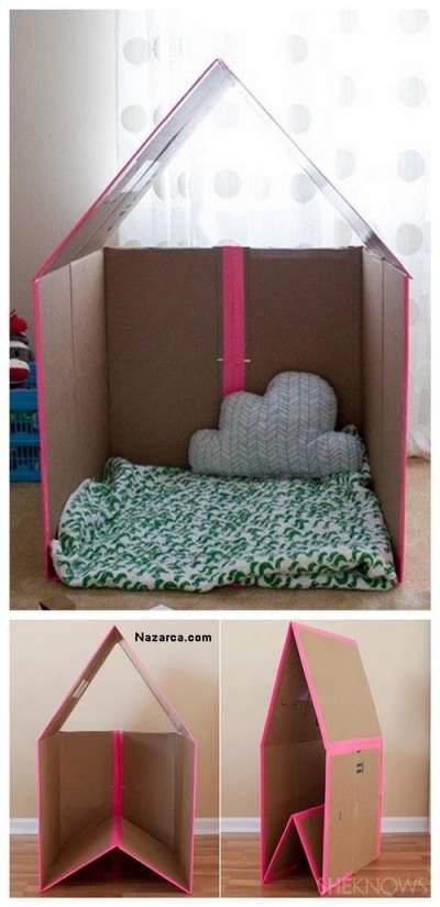 kartondan-basit-oyuncak-cadir