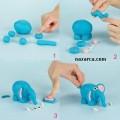 oyun-hamurundan-fil-yapma