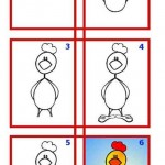 Komik Horoz karikatürü