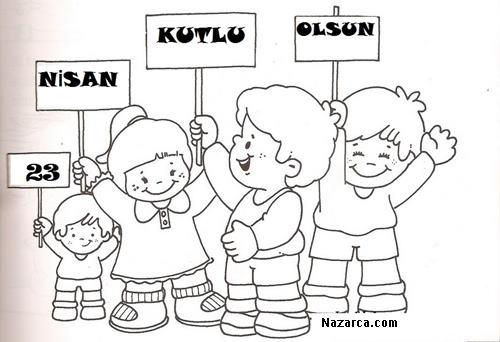 23 Nisan Boyama Okul Oncesi Arsivleri Nazarca Com