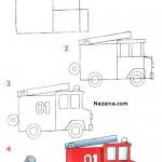 3d Araç Gemi Araba Tren Kamyon Kepçe çizimleri Nazarcacom