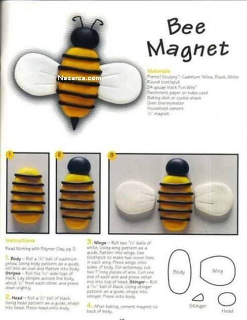 aridan-fimoyla-buzdolabi-magneti-Bee