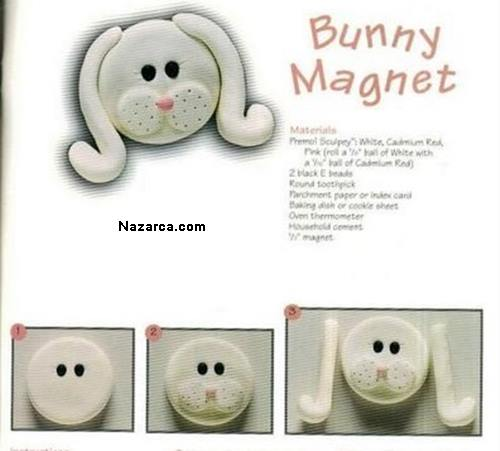 Fimo-bunny-magnet