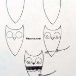 karikatur-baykus-cizme