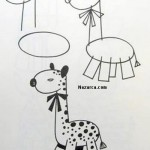karikatur-zurafa-cizmek