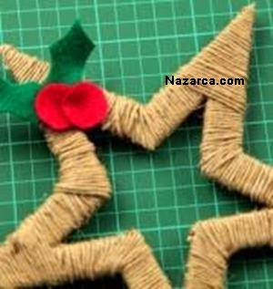 karton-ve-iplerden-dekoratif-noel-yildizi-yapimi-7