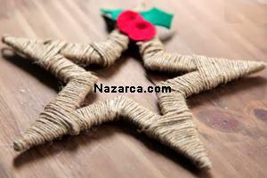 karton-ve-iplerden-dekoratif-noel-yildizi-yapimi-8