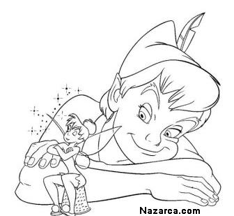 Haylaz Cocuk Peter Pan Boyama Sayfalari Nazarca Com