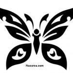 sık-kelebek-siyah-renk-sablon