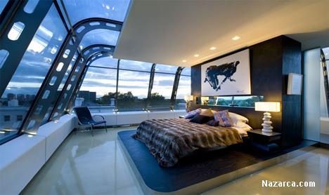 Çatı katı cam tavan