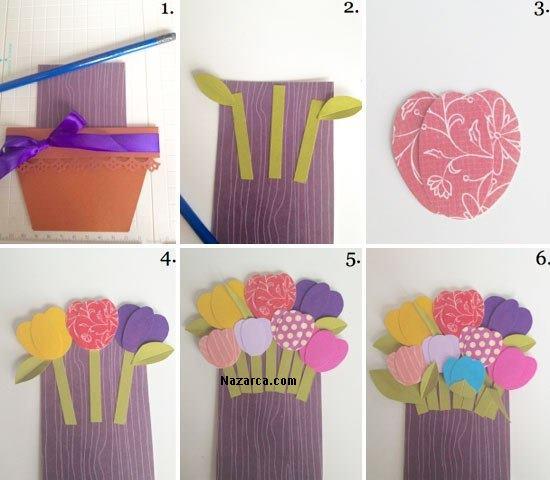 kartondan-dekoratif-saksida-cicek-yapilisi