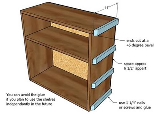 knockoffwood storage bed top hutch-6