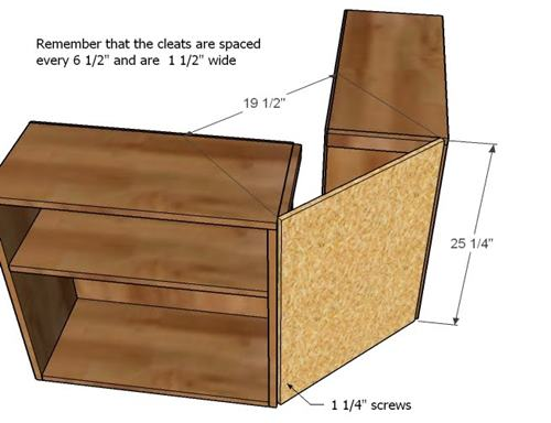 knockoffwood storage bed top hutch-7