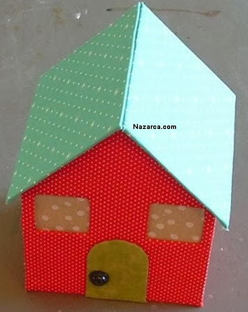Домики своими руками фото из картона