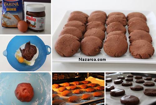 nutella-ile-yoğrulan-cikolatali-kurabiye
