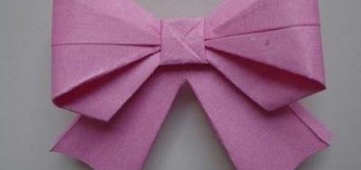 origami-fiyonk yapılışı