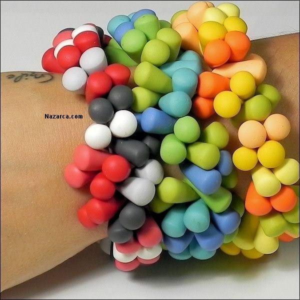 polimer-kil-fimo-hamurundan-renkli-boncuklu-bileklik-yapimi